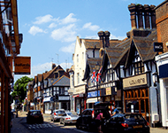 Commercial buildings in Rickmansworth